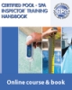 Certified Pool/Spa Inspector™ (CPI™) Access Code & Handbook